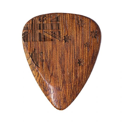 Flag Tones Southern Cross Cobra'S Saffron 1 Guitar Pick